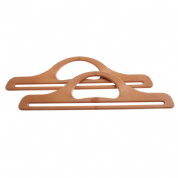 Bag Handles - Wide - 11 inches - Light Brown -BH4L